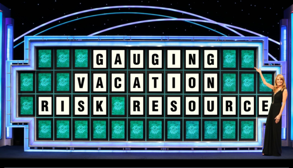 Wheel of Fortune, Risk Resource